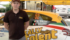 Rally Italia Talent 2014, Santor e Ometto al Rally del Adriatico.